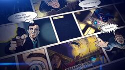 The Return of Doctor Mysterio comic intro