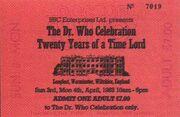 Longleat Celebration Ticket 1983