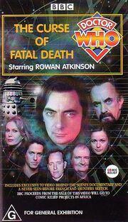 Australian VHS TheCurseofFatalDeath cover