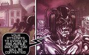 Fourth Doctor Titan Back-up Dark Dimension Cybermen