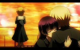 Yuuko hug teiichi okonogi misunderstand copy