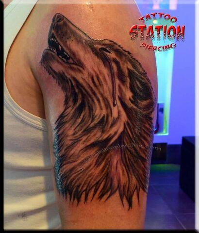 File:Wolf tattoo,realistic,3d tattoo,image,station studio.jpg