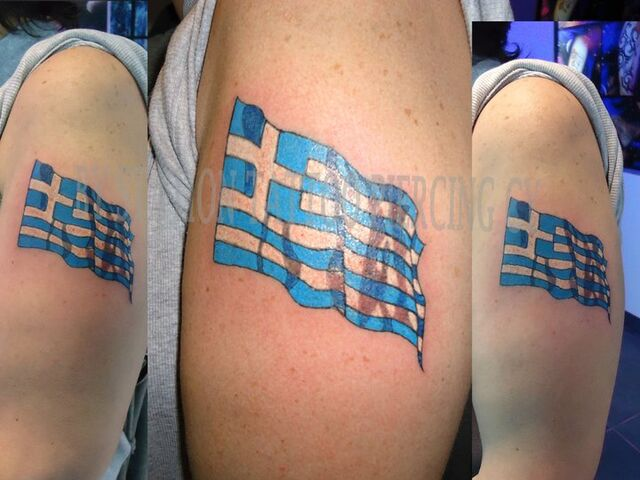 File:Tattoo Color Flag Greece Waving Realistic movement.jpg