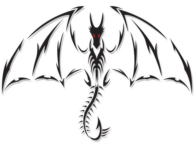 File:Dragon Tattoo by DesertViper.jpg