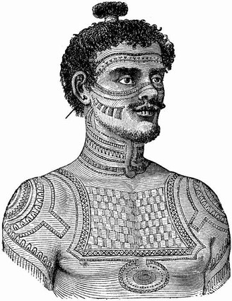 File:Tattoo history pic of tribal man.jpeg