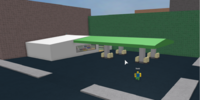 The Gas Station on the Spawn Side of the Bridge