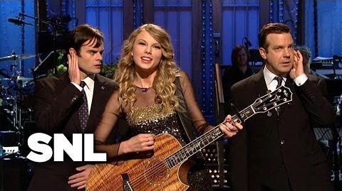 Taylor Swift Monologue Monologue Song - Saturday Night Live