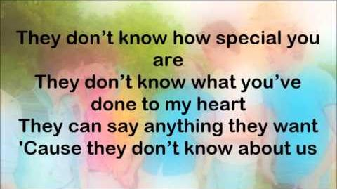 One Direction - They Don't Know About Us (Lyrics On Screen)