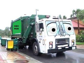 George Garbage Truck