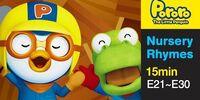 Pororo Nursery Rhymes Full Episodes 21 to 30