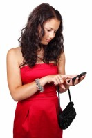 File:Young woman texting 186637.jpg