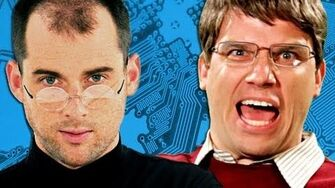 Steve Jobs vs Bill Gates. Epic Rap Battles of History Season 2