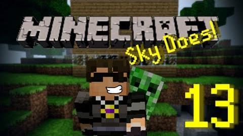 Sky Does Minecraft Episode 13 Antvenom is Bad Luck Part 2