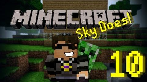 Sky Does Minecraft Episode 10 The Sad New Beginning