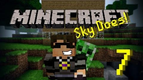 Sky Does Minecraft Episode 7 Back Into The Lava Pit