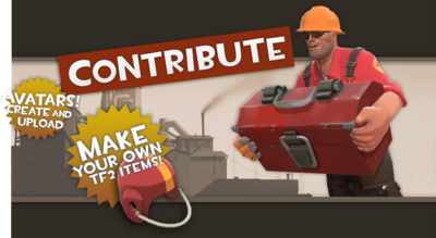 Community Contribution Update banner TF2