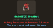 B-ankh! haunted info TF2