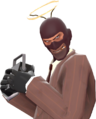 Spy with the Cheater's Lament TF2.png