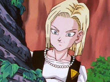 Android 18 hiding