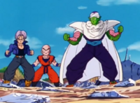 Future Trunks, Krillin and Piccolo