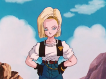 Android 18 repenting