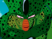 Cell arrives on the battlefield