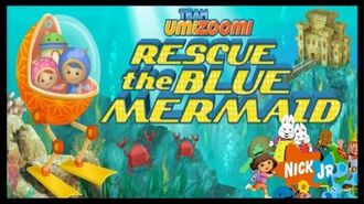 Team Umizoomi Umi City Mighty Missions - Rescue the Blue Mermaid - Game Movie for Kids HD