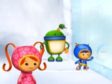 Team umizoomi ice wall