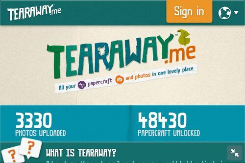 Tearaway.me Mobile
