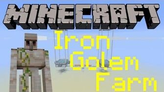 Small & relatively easy iron golem farm 1