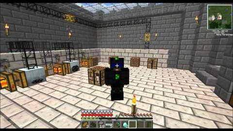 Minecraft Technic Part 9 Nano Armour, Nano Sabre and a Rampage!