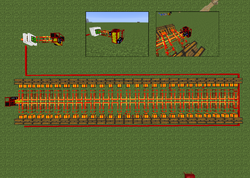 Redstone vs Combustion Engines
