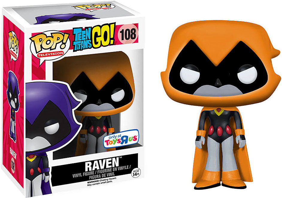Image funko teen titans go funko pop television raven for Cat goes fishing wiki