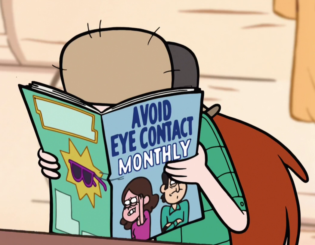 Image - S2e5 avoid eye contact monthly.png | Teen Titans ...