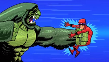 Serious Beast Boy VS Billy