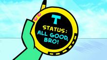 Status all good bro