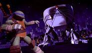Leonardo Raphael And Donatello Chaining Up Stockman Pod