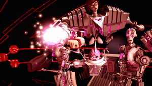 Kraang SubPrime Charges Up His Wrist Laser Cannon