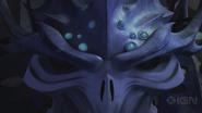Close Up On Super Shredder's Face