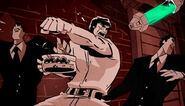 Hamato Yoshi Fights Normans