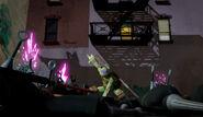 Donatello Versus Foot Bots