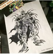 Super Shredder Concept Drawing By Ciro Nieli
