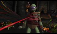Lord Vringath Dregg Wrapping Spider Hands Around Donatello