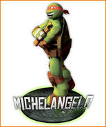 Teenage Mutant Ninja Turtles 2012 Michelangelo
