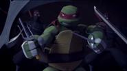 Raph in battle