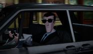 Bishop Driving Car