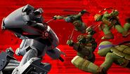Ninja Turtles Versus Stockman Pod
