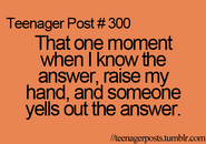 Teenager Post 300