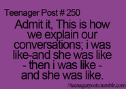 Teenager Post 250
