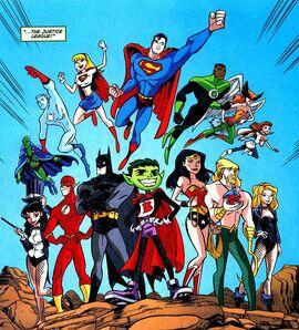 Justice League Teen Titans Go